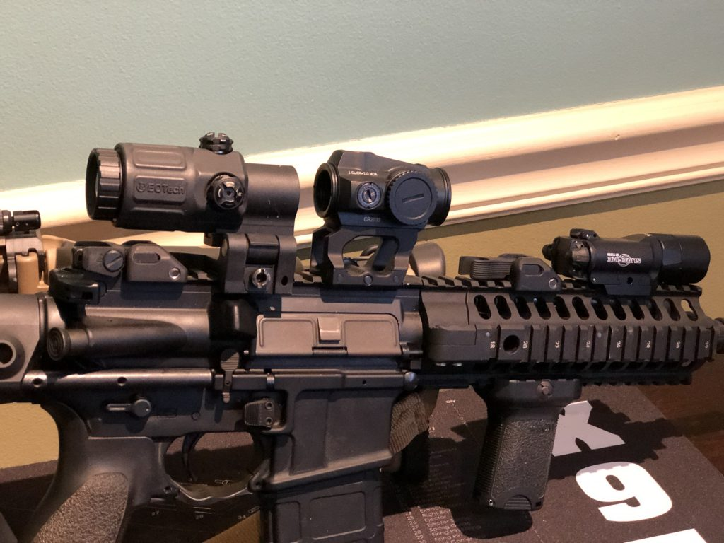 vortex sparc solar on a scalarworks mount with eotech magnifier