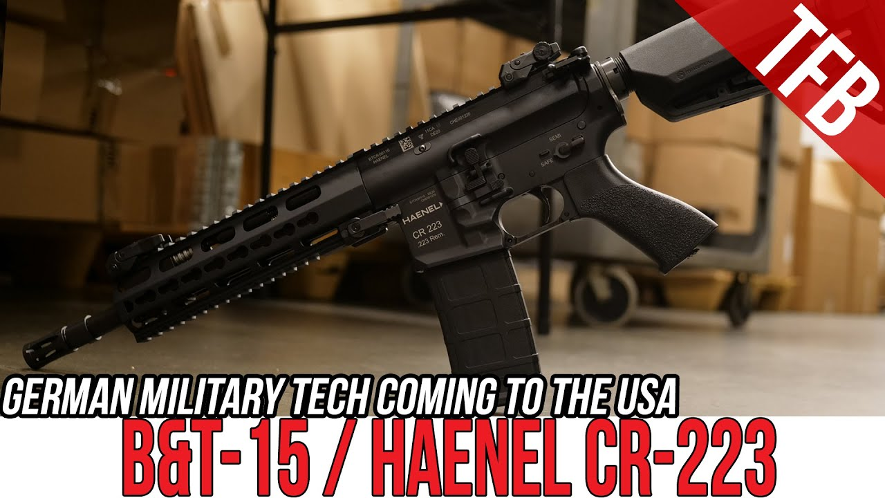 The Haenel 'Not416' is coming soon from B&T