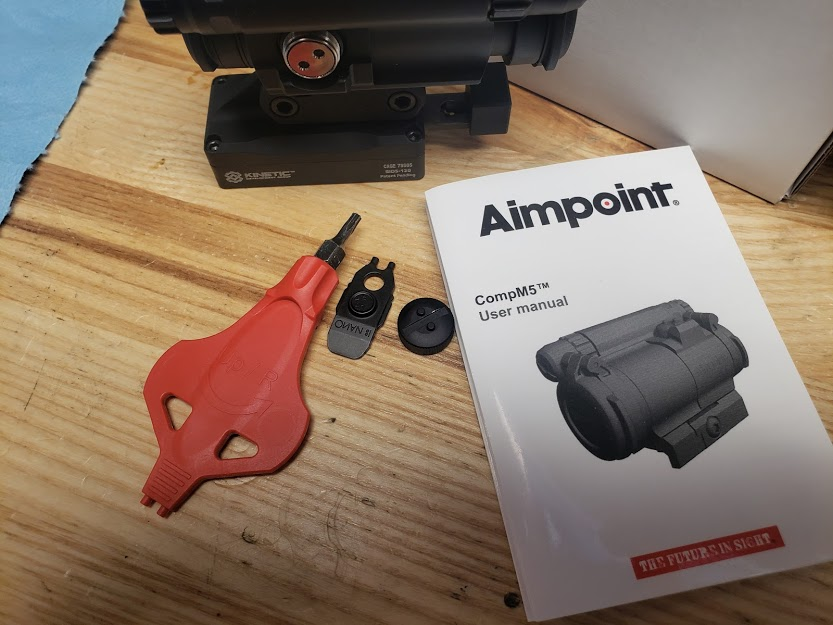 aimpoint compm5 and NANO