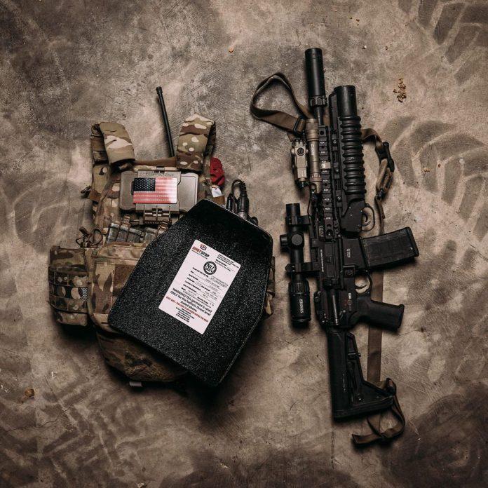ShotStop armor plates