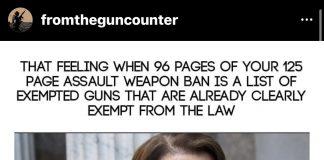 from the gun counter IG on feinsteins assault weapon ban