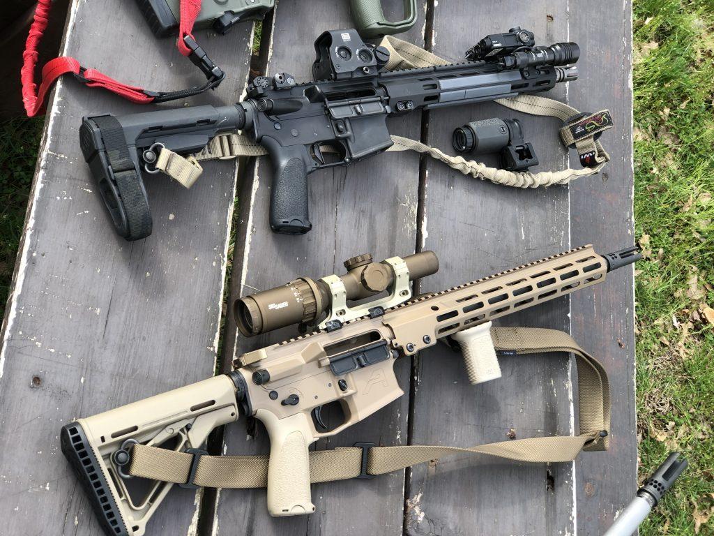 zion 15 AR M4A1 urgi lpvo eotech exps